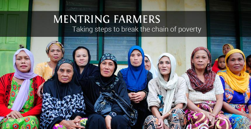 Mentring Farmers: Taking steps to break the chain of poverty